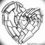 фото Эскизы тату Сердце от 20.06.2018 №213 - Sketches Tattoo Heart - tatufoto.com