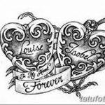 фото Эскизы тату Сердце от 20.06.2018 №214 - Sketches Tattoo Heart - tatufoto.com