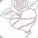 фото Эскизы тату Сердце от 20.06.2018 №217 - Sketches Tattoo Heart - tatufoto.com