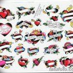 фото Эскизы тату Сердце от 20.06.2018 №218 - Sketches Tattoo Heart - tatufoto.com