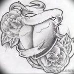фото Эскизы тату Сердце от 20.06.2018 №220 - Sketches Tattoo Heart - tatufoto.com