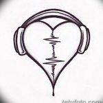 фото Эскизы тату Сердце от 20.06.2018 №221 - Sketches Tattoo Heart - tatufoto.com