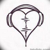 Эскизы тату «Сердце»