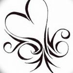 фото Эскизы тату Сердце от 20.06.2018 №222 - Sketches Tattoo Heart - tatufoto.com
