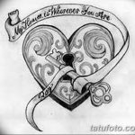 фото Эскизы тату Сердце от 20.06.2018 №223 - Sketches Tattoo Heart - tatufoto.com