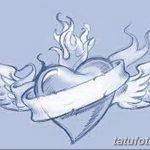 фото Эскизы тату Сердце от 20.06.2018 №224 - Sketches Tattoo Heart - tatufoto.com