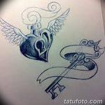фото Эскизы тату Сердце от 20.06.2018 №229 - Sketches Tattoo Heart - tatufoto.com