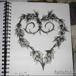 фото Эскизы тату Сердце от 20.06.2018 №233 - Sketches Tattoo Heart - tatufoto.com