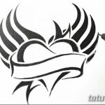 фото Эскизы тату Сердце от 20.06.2018 №235 - Sketches Tattoo Heart - tatufoto.com