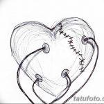 фото Эскизы тату Сердце от 20.06.2018 №237 - Sketches Tattoo Heart - tatufoto.com
