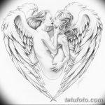 фото Эскизы тату Сердце от 20.06.2018 №240 - Sketches Tattoo Heart - tatufoto.com 2342352