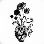 фото Эскизы тату Сердце от 20.06.2018 №242 - Sketches Tattoo Heart - tatufoto.com