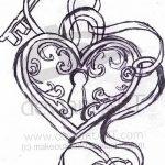 фото Эскизы тату Сердце от 20.06.2018 №249 - Sketches Tattoo Heart - tatufoto.com