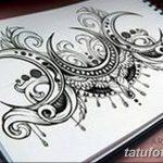 фото Эскизы тату полумесяц от 18.06.2018 №015 - Sketches of a moon tattoo - tatufoto.com
