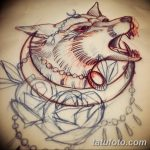 фото Эскизы тату полумесяц от 18.06.2018 №071 - Sketches of a moon tattoo - tatufoto.com