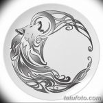 фото Эскизы тату полумесяц от 18.06.2018 №076 - Sketches of a moon tattoo - tatufoto.com