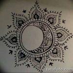 фото Эскизы тату полумесяц от 18.06.2018 №084 - Sketches of a moon tattoo - tatufoto.com