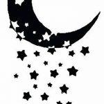 фото Эскизы тату полумесяц от 18.06.2018 №098 - Sketches of a moon tattoo - tatufoto.com