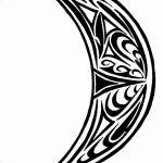 фото Эскизы тату полумесяц от 18.06.2018 №100 - Sketches of a moon tattoo - tatufoto.com