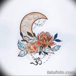 фото Эскизы тату полумесяц от 18.06.2018 №120 - Sketches of a moon tattoo - tatufoto.com