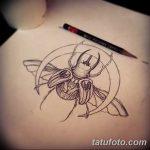 фото Эскизы тату полумесяц от 18.06.2018 №127 - Sketches of a moon tattoo - tatufoto.com