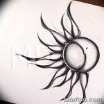 фото Эскизы тату полумесяц от 18.06.2018 №128 - Sketches of a moon tattoo - tatufoto.com