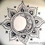 фото Эскизы тату полумесяц от 18.06.2018 №134 - Sketches of a moon tattoo - tatufoto.com