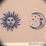 фото Эскизы тату полумесяц от 18.06.2018 №173 - Sketches of a moon tattoo - tatufoto.com