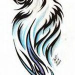 фото Эскизы тату полумесяц от 18.06.2018 №174 - Sketches of a moon tattoo - tatufoto.com