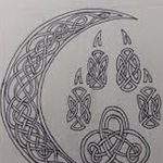 фото Эскизы тату полумесяц от 18.06.2018 №180 - Sketches of a moon tattoo - tatufoto.com
