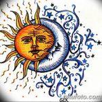 фото Эскизы тату полумесяц от 18.06.2018 №188 - Sketches of a moon tattoo - tatufoto.com