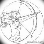 фото Эскизы тату полумесяц от 18.06.2018 №195 - Sketches of a moon tattoo - tatufoto.com