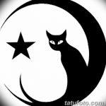 фото Эскизы тату полумесяц от 18.06.2018 №202 - Sketches of a moon tattoo - tatufoto.com