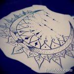 фото Эскизы тату полумесяц от 18.06.2018 №236 - Sketches of a moon tattoo - tatufoto.com