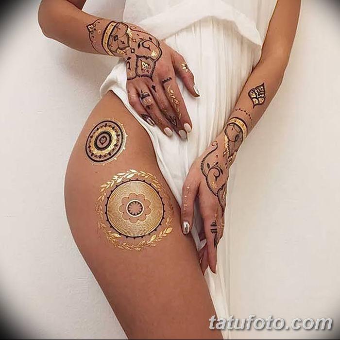 фото био тату от 09.06.2018 №069 - bio tattoo - tatufoto.com