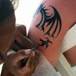 фото био тату от 09.06.2018 №072 - bio tattoo - tatufoto.com