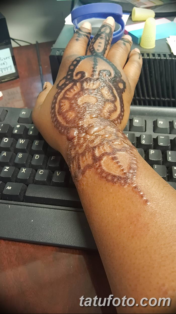 фото био тату от 09.06.2018 №133 - bio tattoo - tatufoto.com