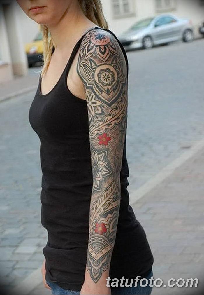 фото рисунок женской тату от 03.06.2018 №025 - drawing of female tattoo - tatufoto.com
