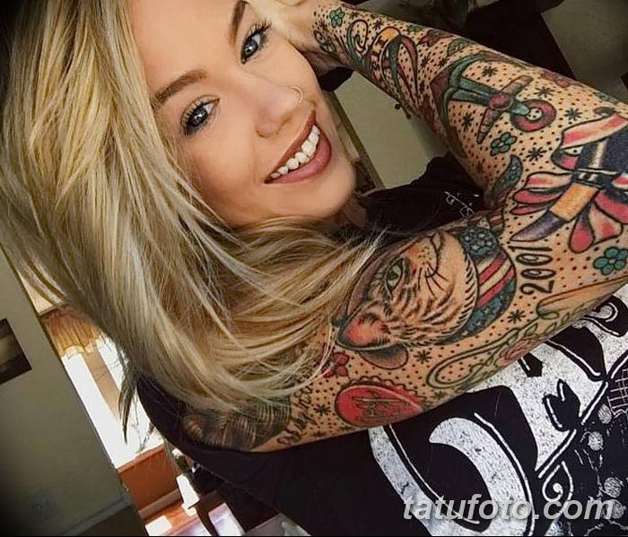 фото рисунок женской тату от 03.06.2018 №046 - drawing of female tattoo - tatufoto.com