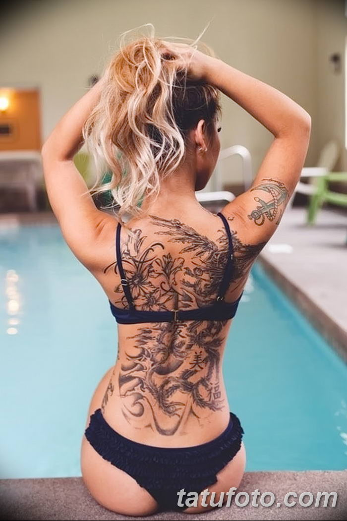 фото рисунок женской тату от 03.06.2018 №057 - drawing of female tattoo - tatufoto.com