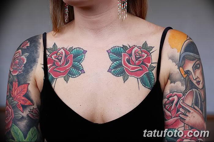 фото рисунок женской тату от 03.06.2018 №062 - drawing of female tattoo - tatufoto.com