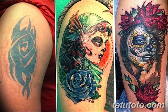 фото рисунок женской тату от 03.06.2018 №065 - drawing of female tattoo - tatufoto.com