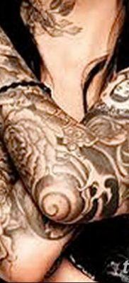 фото рисунок женской тату от 03.06.2018 №168 – drawing of female tattoo – tatufoto.com