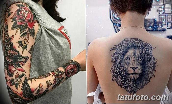 фото рисунок женской тату от 03.06.2018 №264 - drawing of female tattoo - tatufoto.com