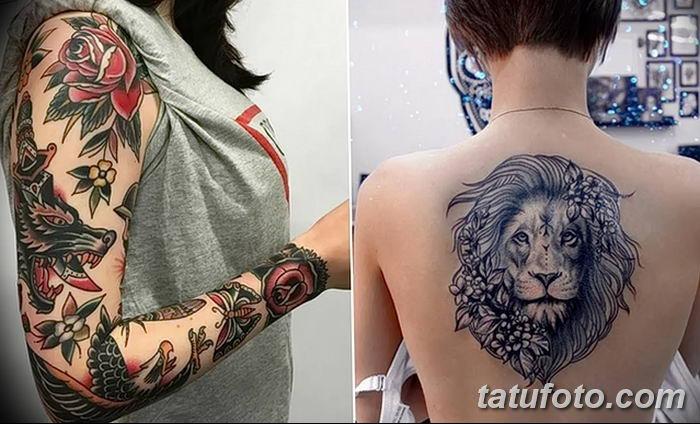 фото рисунок женской тату от 03.06.2018 №265 - drawing of female tattoo - tatufoto.com