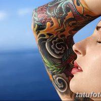 Значение женских тату