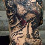 фото рисунок тату большого размера от 02.06.2018 №061 - large size tattoo - tatufoto.com