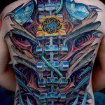 фото рисунок тату большого размера от 02.06.2018 №081 - large size tattoo - tatufoto.com