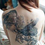 фото рисунок тату большого размера от 02.06.2018 №082 - large size tattoo - tatufoto.com