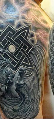 фото тату Звезда Сварога от 08.06.2018 №012 – Star of Svarog tattoo – tatufoto.com